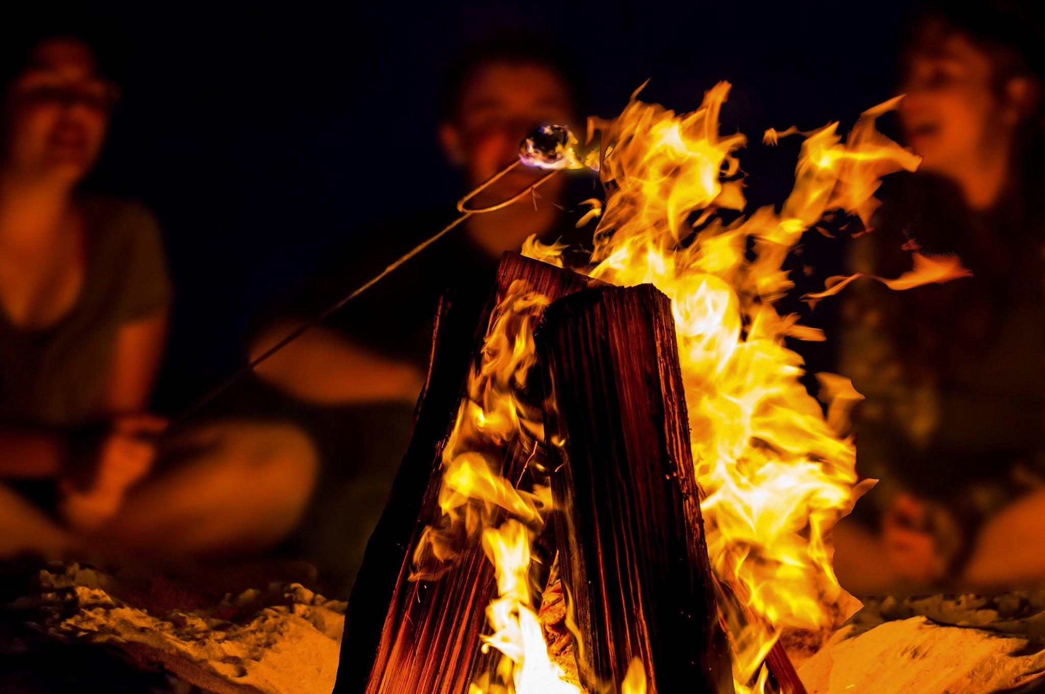 Smores on Campfire