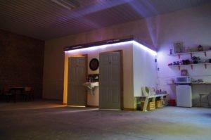 AirBnB Forest Loft Kitchen